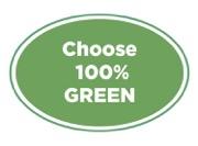 Choose 100% Green