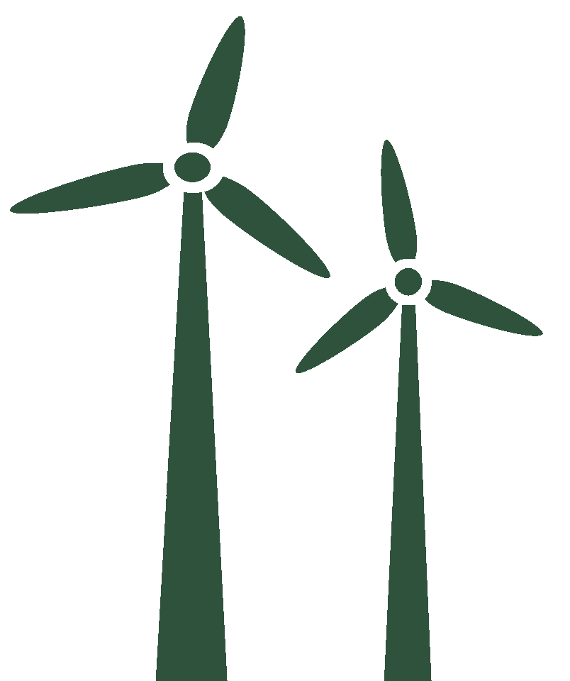 Wind turbine inllustration